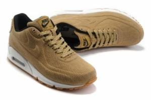 China Nike Air Max 90 Vt Light Yellow Womens Shoes on sale
