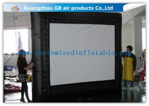 China Customized Inflatable Backyard Movie Screen 3 * 3m For Outdoor Events on sale