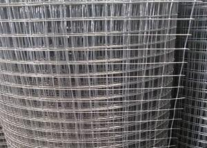 China Construction 35kg BWG16 Galvanised Weld Mesh Panels on sale
