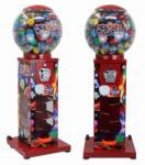 Custom 400 Capacity Gumball Vending Machine For Shopping Store