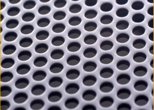 China Customize Mirror Finish Honeycomb Perforated Stainless Steel Sheets With  1219mm Width on sale