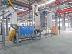 China Waste PET Bottle Washing Line , Pet Bottle Recycling Equipment 500-5000kg/H on sale
