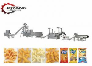 China 150kg/H Snack Food Making Machine For Fried Kurkure Cheetos Nik Naks on sale