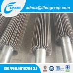 stainless steel longitudinal fin heating pipe finned tube