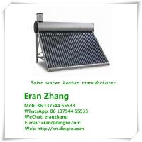 China Solar water heater manufacturer,solar collector with evacuated tube factory  OP4 on sale