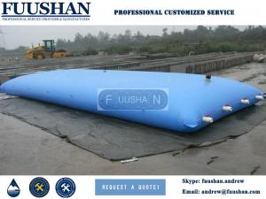 China Fuushan Hot Selling 100L - 10000 L Soft Foldable TPU PVC Water Bladder Tanks Prices on sale