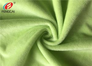 China Warp Knit Minky Plush Fabric , Customized Color Baby Blanket Material ,Anti-pilling on sale