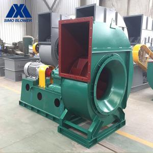 China Backward Induced Draft Fan In Thermal Power Plant Low Pressure Centrifugal Fan on sale