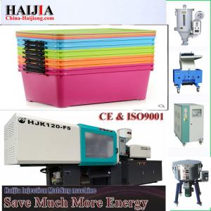 China plastic boxes storage making machine Plastic Injection Molding Machine plastic folding storage boxes industrial on sale