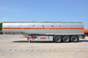 China 3 axles type 50,000 liters fuel/oil tank semi trailer for sale on sale