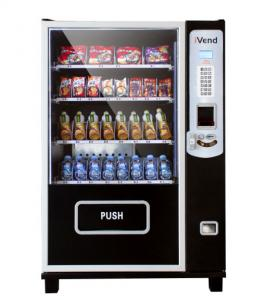 China Black outdoor beverage vending machine , most popular product vending machines on sale