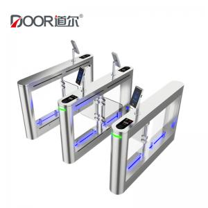 China Facial Recognition Tursntile Security Barrier Swing Gate for Physical Access Control System on sale