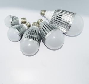China Dimmable E27 Base 3W 5W 7W 9W LED bulb 2700-6500k Color Temperature(CCT) Aluminum Alloy on sale