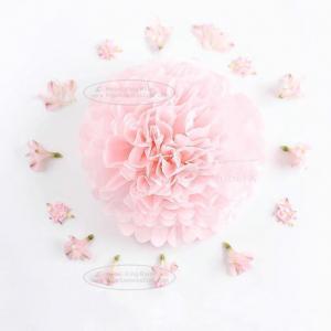 3 Size Outdoor Decor Flower Ball Wedding Party Xmas Tissue Paper Home Pom Poms
