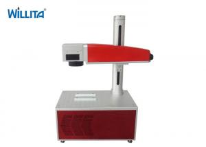 China Professional Metal Fiber Laser Marking Machine Wood Acrylic Plastic Laser Printer on sale