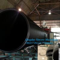 China Large diameter buried sewage pipes extrusion production machine 2400mm 3000mm 4000mm on sale
