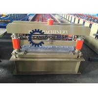China Cladding Profile IBR Metal Roofing Panel Sheet Roll Forming Machine PLC Control on sale