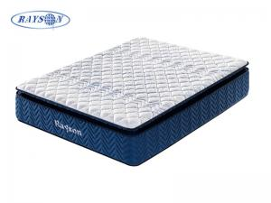 China Foam Encased Individual Pocket Coil Mattress For Back Pain on sale