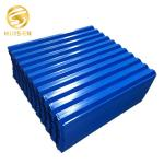 Blue Lamella Tube Settler PVC Inclined Pipe Packing For Clarifier Tank