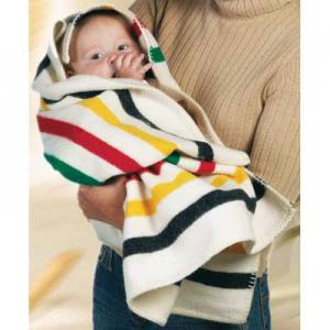 China soft brushed cotton baby blanket on sale