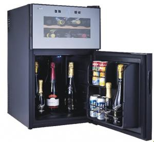 China 8 Bottles Wine Cooler with mini bar 2in1 (Thermoelectric Wine Cooler Wine Cellar) on sale