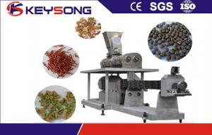 China Industrial Pet Food Extruder Machine Dog Cat Fish Food Making Machine on sale