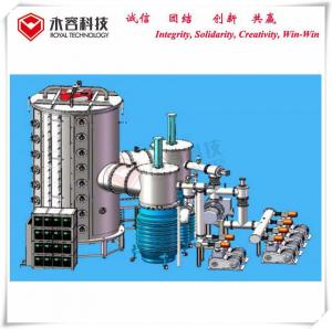 China Stainless Steel Sheets Vacuum Coating Equipment , Large size SS sheets Multi Arc Coating Machine on sale