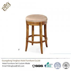 Quality Stylish Eco Friendly Hotel Bar Stools Chairs Sun Creek Pu Leather For