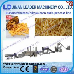 China Fried corn curl kurkure cheetos snack food making machine stainless steel on sale