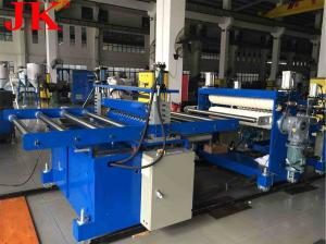China ISO SGS Parallel Twin Screw 200kgs/Hr 0.5mm PVC Sheet Extruder on sale