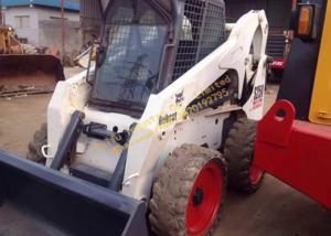 China Japan Used Mini Wheel Loader , Used Skid Steer Loader Bobcat S185 S250 S300 S150 on sale