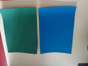 China offset printing rubber blanket , green color, beijing sanyou weiye on sale