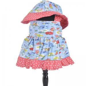 China summer doll matching dresses for 18 young girl doll cloth on sale