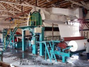 China CHINA FAMOUS BRAND Toilet Paper Machine 8-10TPD on sale
