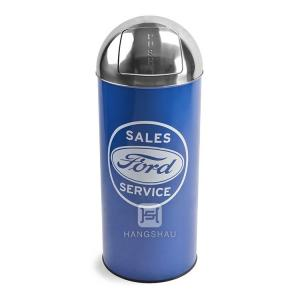 China 70L advertising trash bin without inner bucket on sale