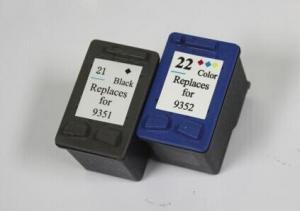China Printers compatible ink cartridge for hp 21 22 hp21xl,hp22xl on sale