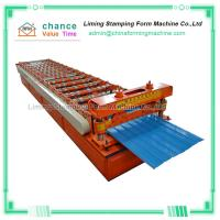 China Building Color Steel Metal Roof Sheet Making Machine on sale