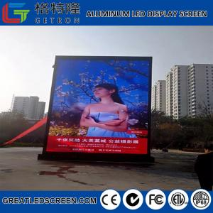 China Low Power Consumption P6 SMD Outdoor Die-Casting Aluminum Led Display Full Color Led Display For Maritime Climate on sale