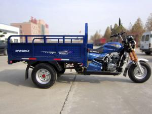 China Single Cylinder 4 Stroke 250cc 3 Wheel Cargo Motorcycle on sale