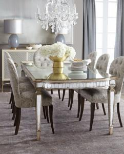 Dining Table With Grey Wooden Chair