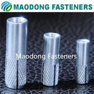 China Maodong Fasteners M6 Zinc Plated Steel Drop In Anchor on sale