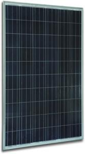 China 245W Poly-crystalline Solar Panel - made of 6 inch solar cell on sale
