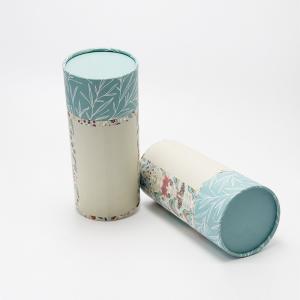 China High Quality Printing Flower Tea Packaging Box Food Paper Core Recyclable Tube on sale