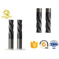 China High Performance Rounded Edge End Mill Bull Nose Milling Cutter AlTiN Coating on sale