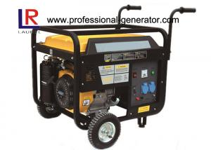 China Air Cooled 5.5kw Portable Gasoline Generator with 188F 4 Stroke Engine Single Cylinder on sale