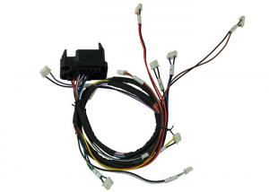 China Charging Pile Truck Wiring Harness 2 - 4pin JST Jumper Customized Length on sale
