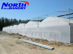 China agricultural poly film greenhouse for sale in China on sale