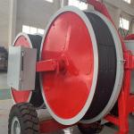 5T Reconductoring Overhead Line hydraulic Tensioner Stringing Equipment