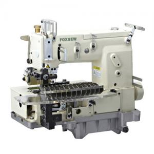 China 12-needle Flat-bed Double Chain Stitch Sewing Machine (tuck fabric seaming) FX1412PTV on sale
