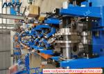 High Speed Upright Roll Forming Machine , Shelf Panel Roll Forming Machine With Presser